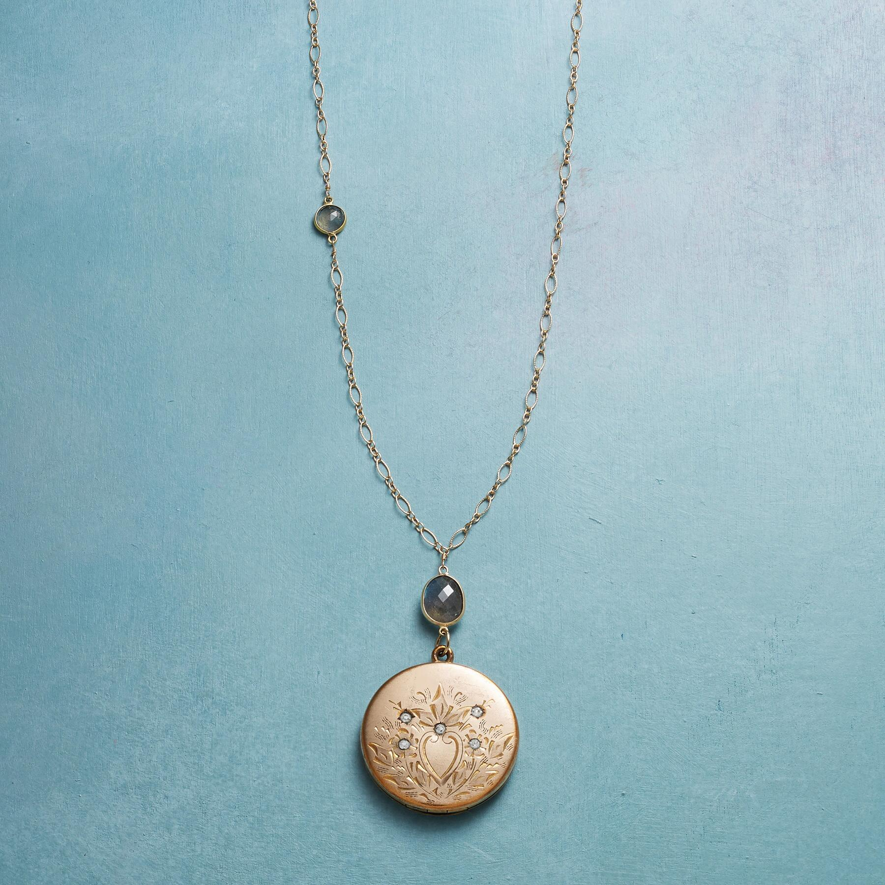 BRIGID HEIRLOOM LOCKET NECKLACE: View 1