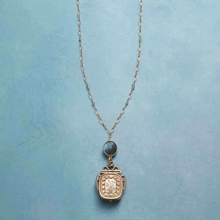 CLEA HEIRLOOM LOCKET NECKLACE