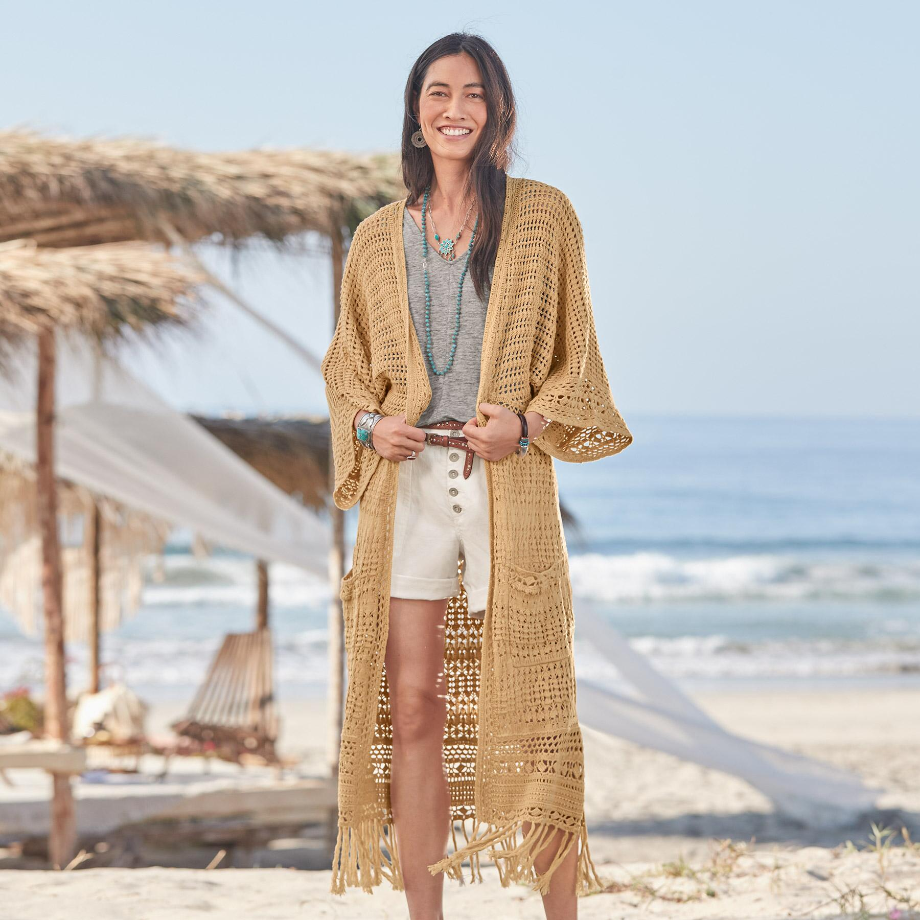 ISLAND SANDS DUSTER - PETITES: View 2