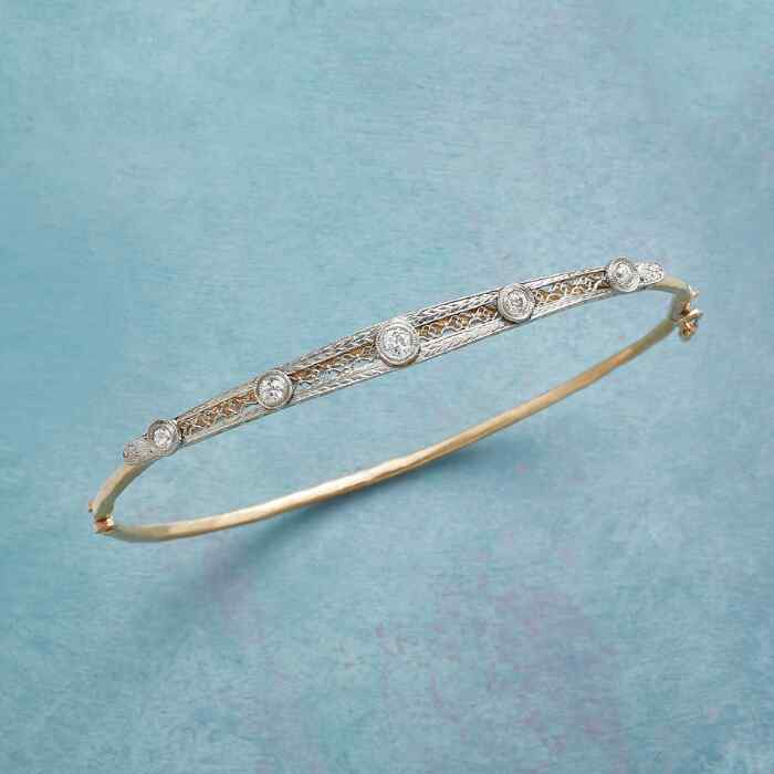 AVERY VINTAGE PIN BANGLE