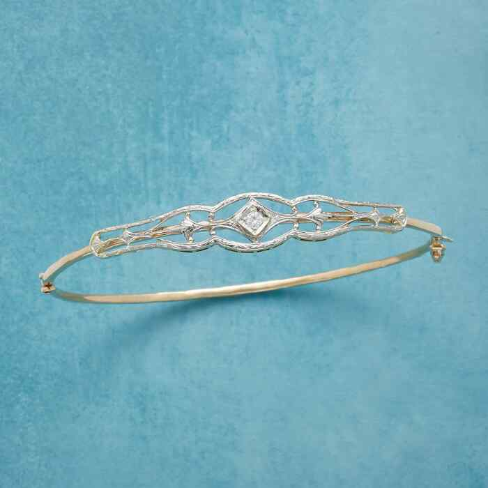 AVALON VINTAGE PIN BANGLE
