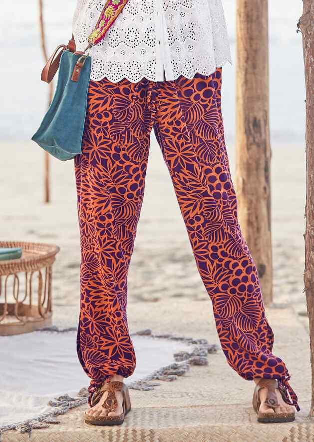 THIS IS PARADISE REVERSIBLE PANTS - PETITES