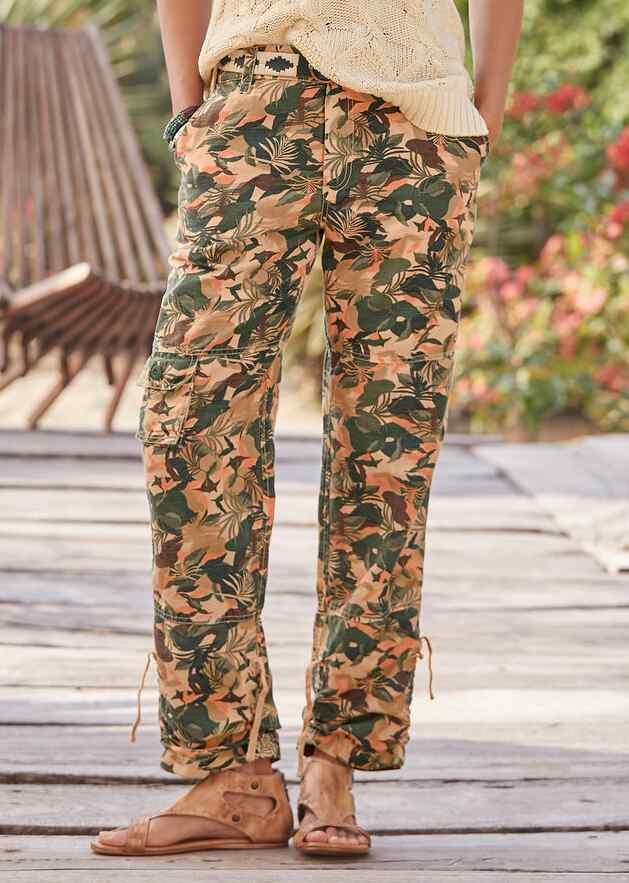 LAGOON CAMO PANTS - PETITES