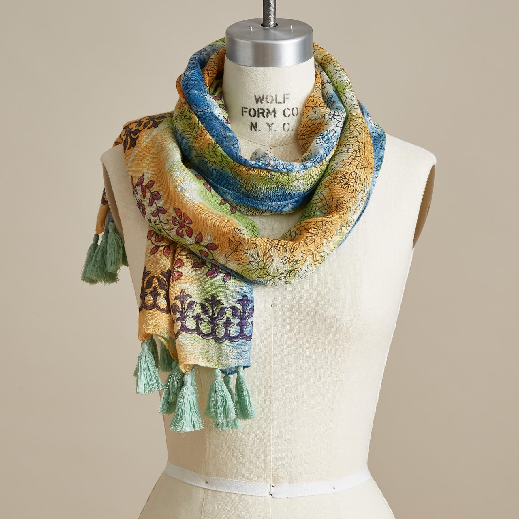OCEAN LULLABY SCARF: View 2