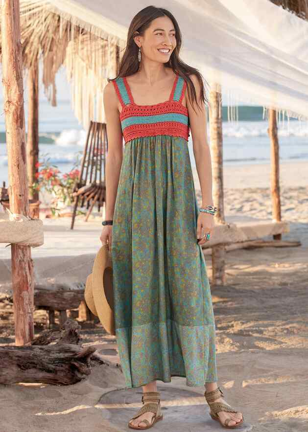 UNDER THE SUN DRESS - PETITES