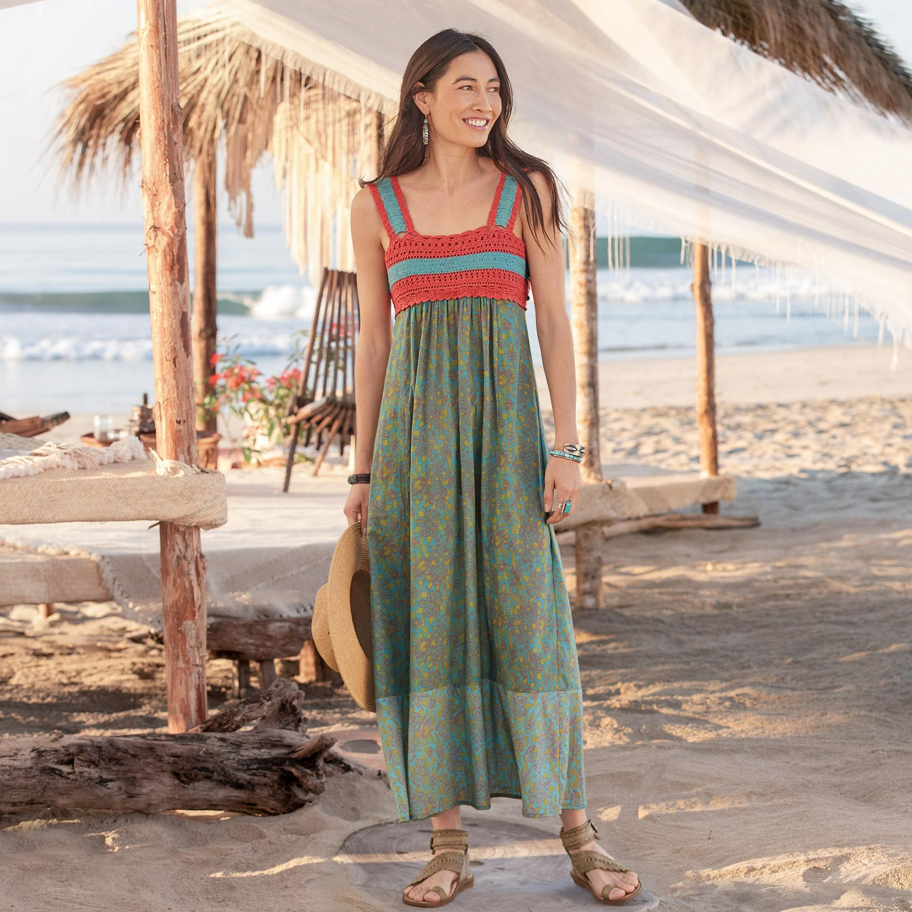 UNDER THE SUN DRESS - PETITES: View 1