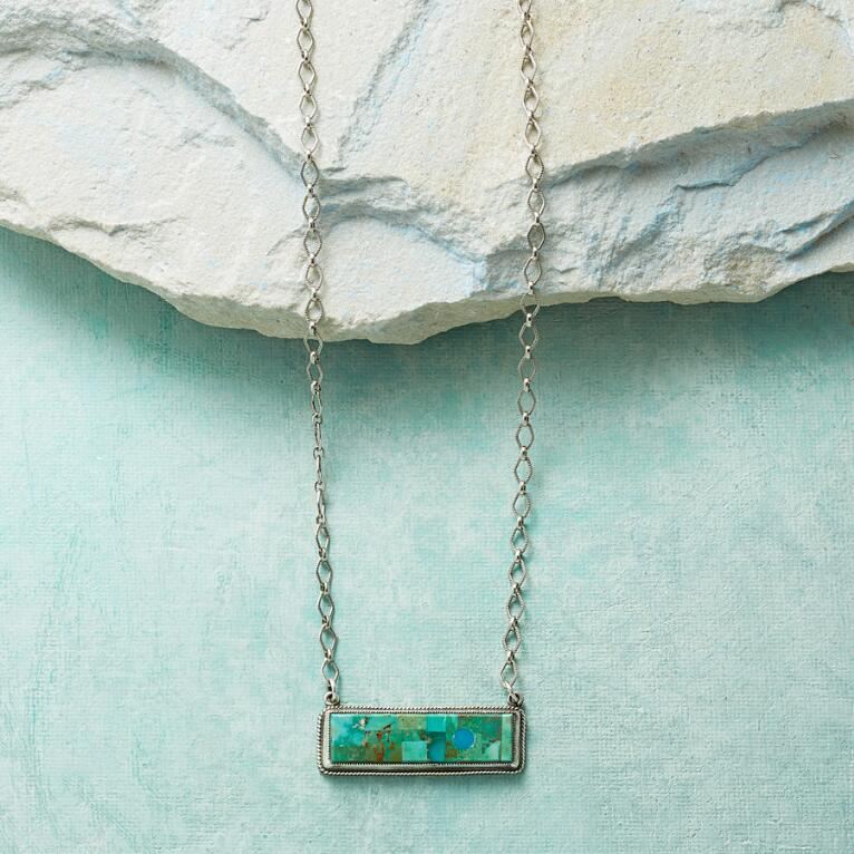 AERIAL VIEW NECKLACE