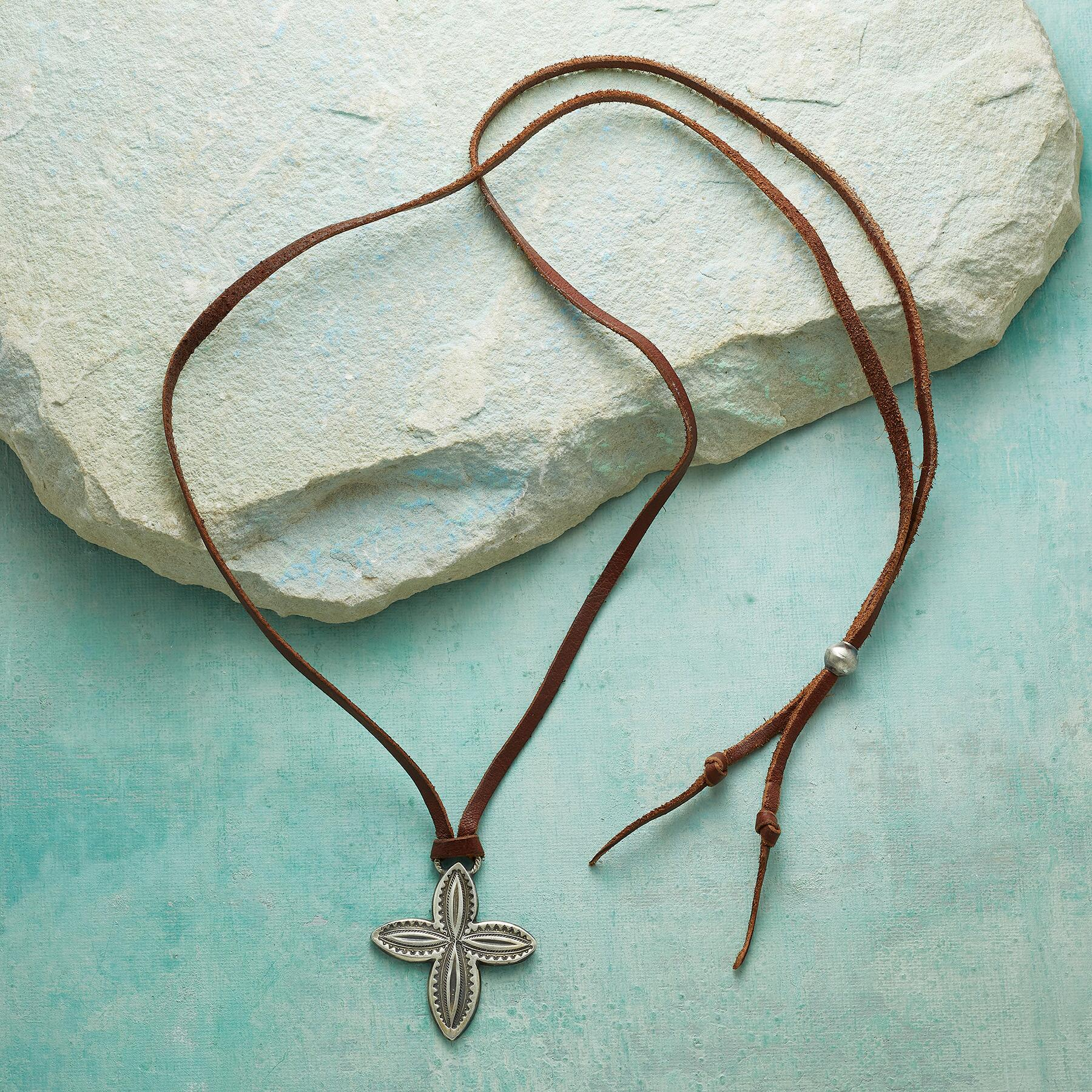 WESTERN CROSS NECKLACE: View 2
