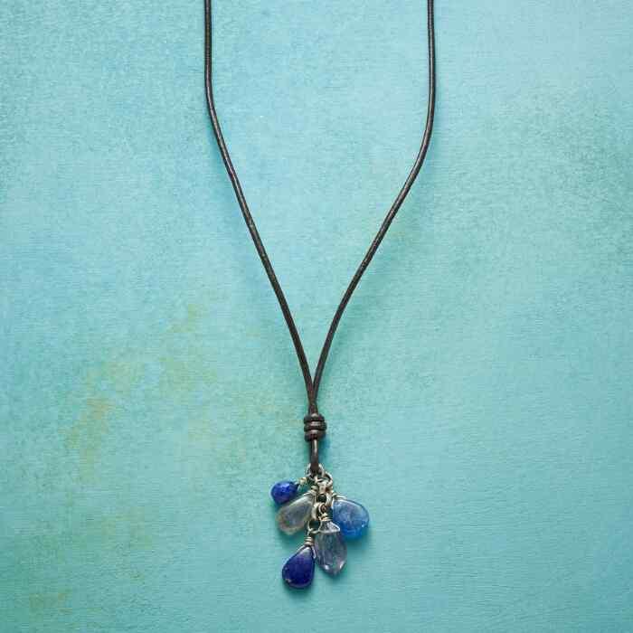 SPLASH OF BLUE NECKLACE