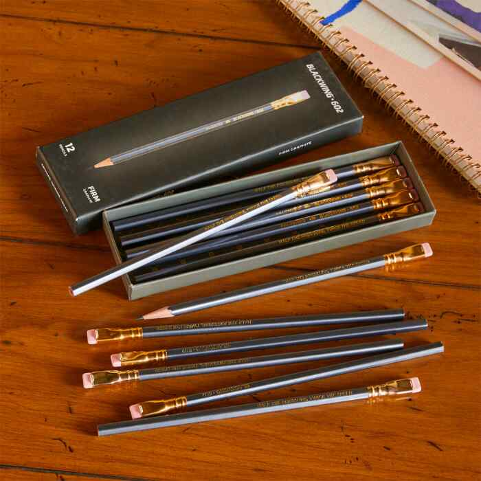 BLACKWING PENCIL AND REPLACEMENT ERASER SET