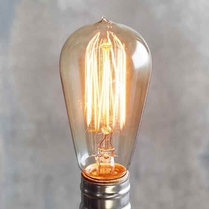 NOSTALGIC THREAD 60W LIGHTBULB