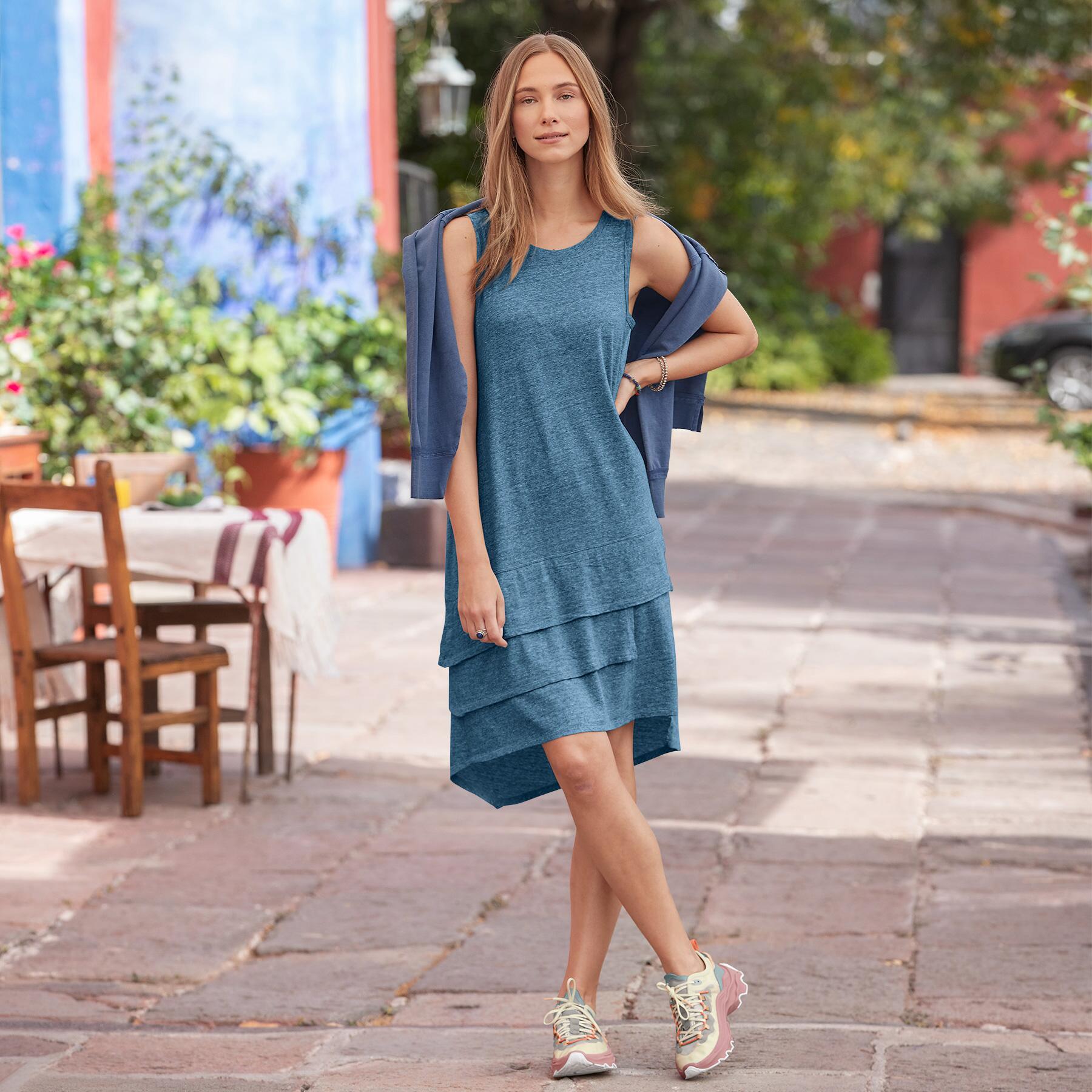 TIDE FLOW DRESS: View 1