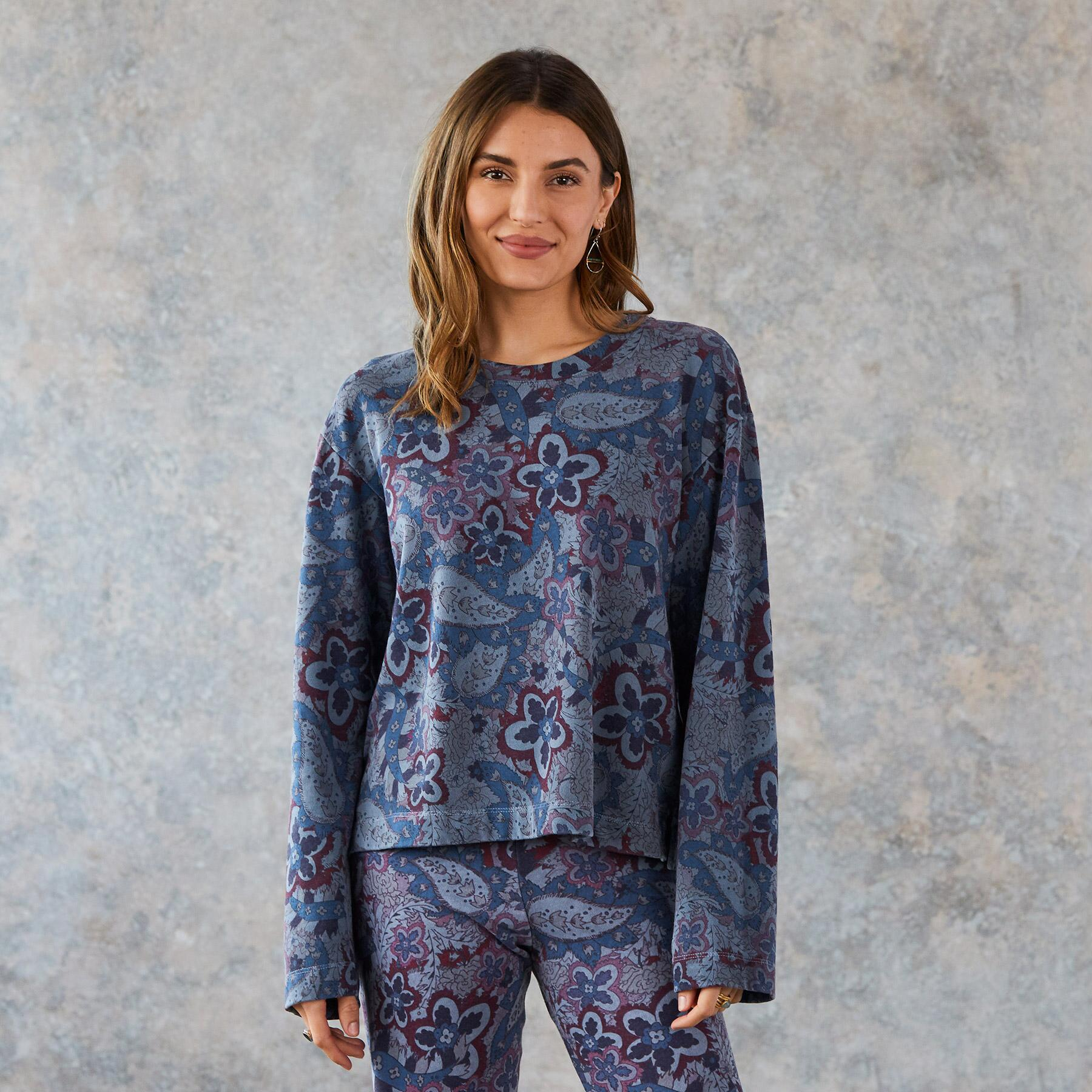 PAISLEY JOY SWEATSHIRT: View 1