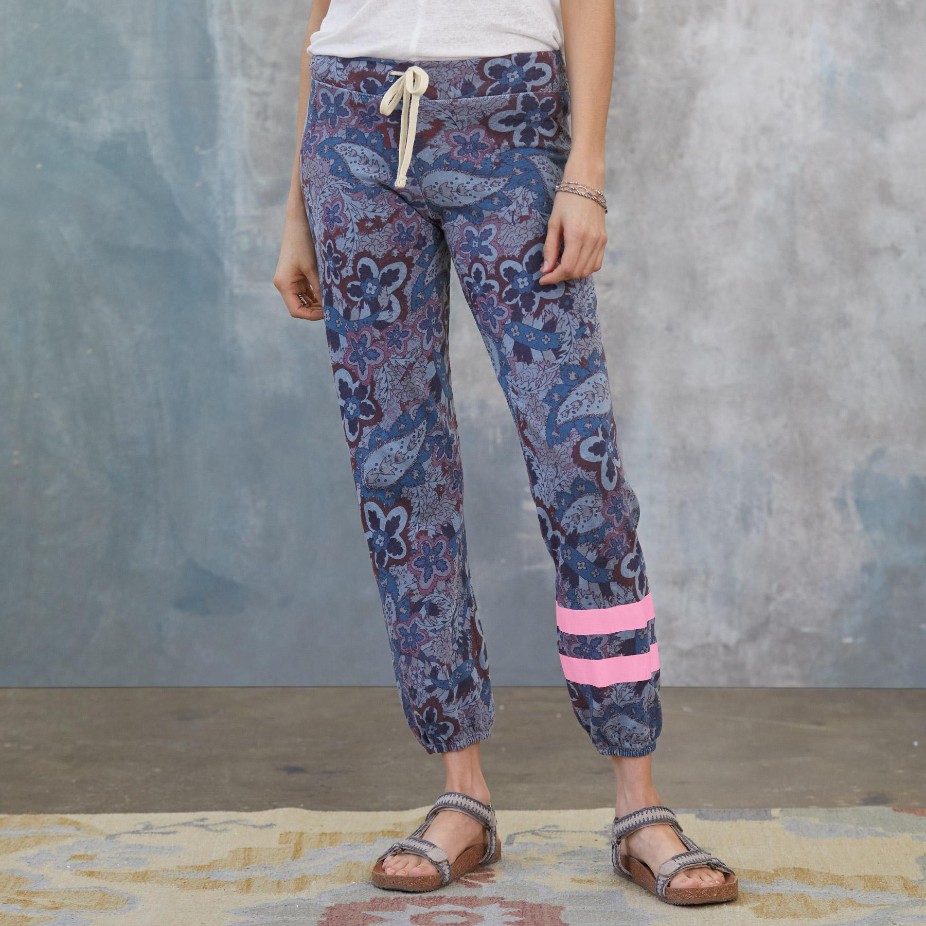 PAISLEY JOY SWEATPANTS: View 1