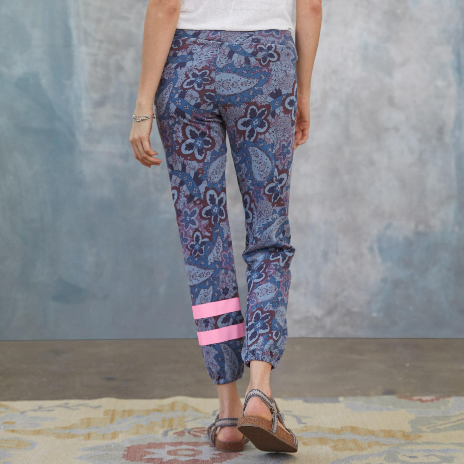 PAISLEY JOY SWEATPANTS: View 2