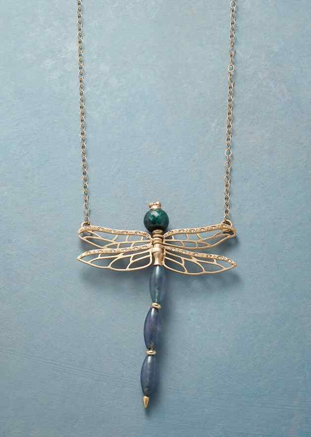DRAGONFLY'S DANCE NECKLACE