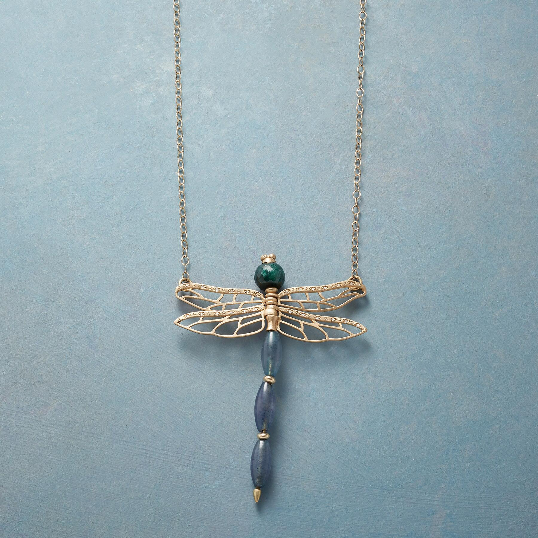 DRAGONFLY'S DANCE NECKLACE: View 1