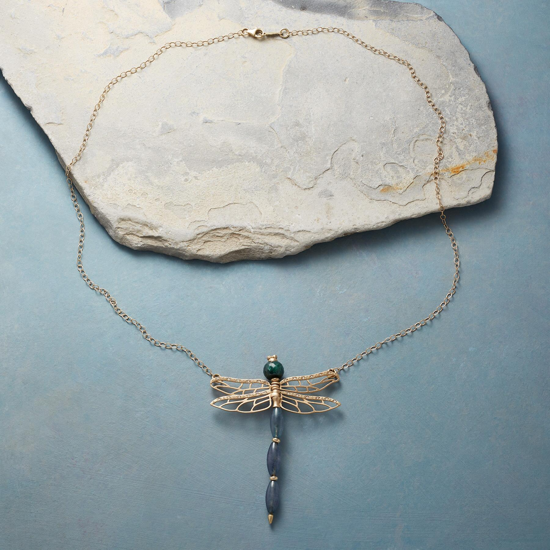 DRAGONFLY'S DANCE NECKLACE: View 2