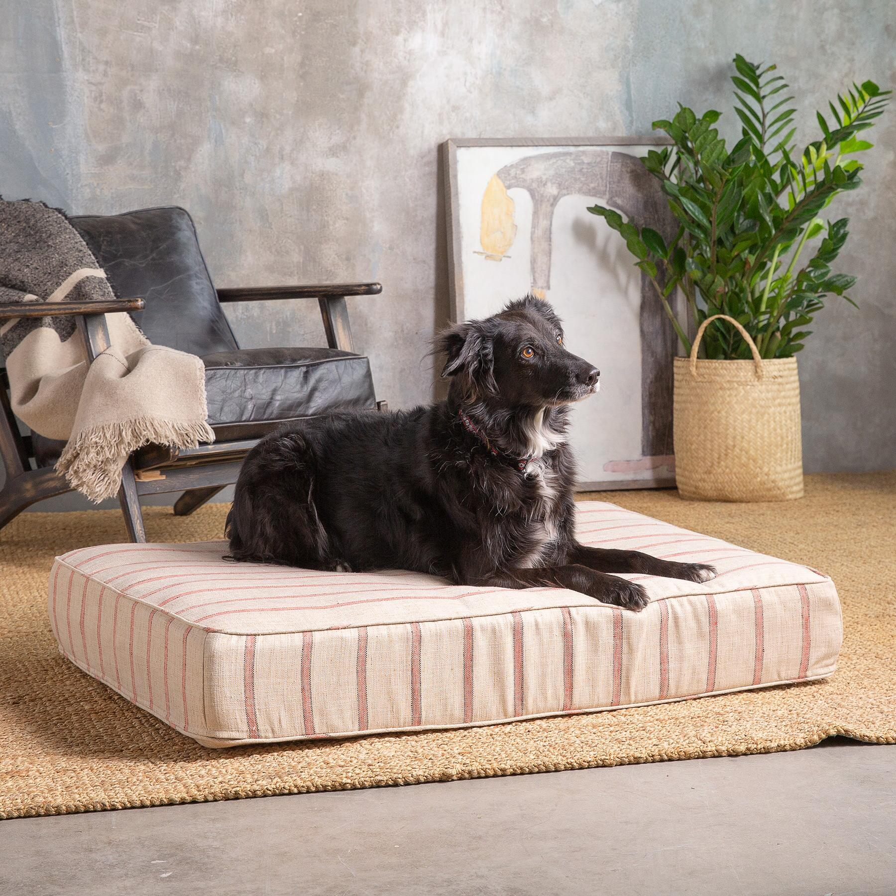 GLENDALE STRIPE DOG BED: View 1
