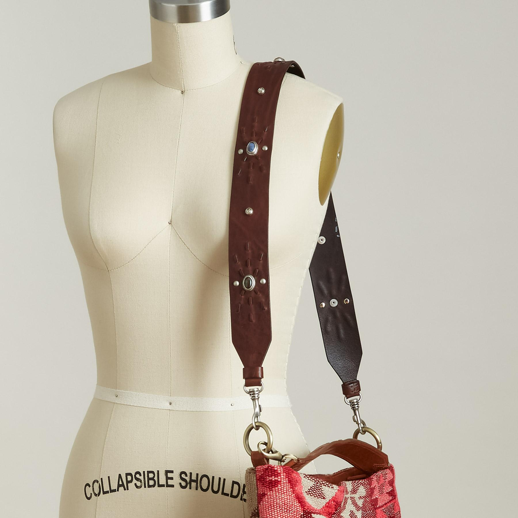 LEATHER BAG STRAP: View 2
