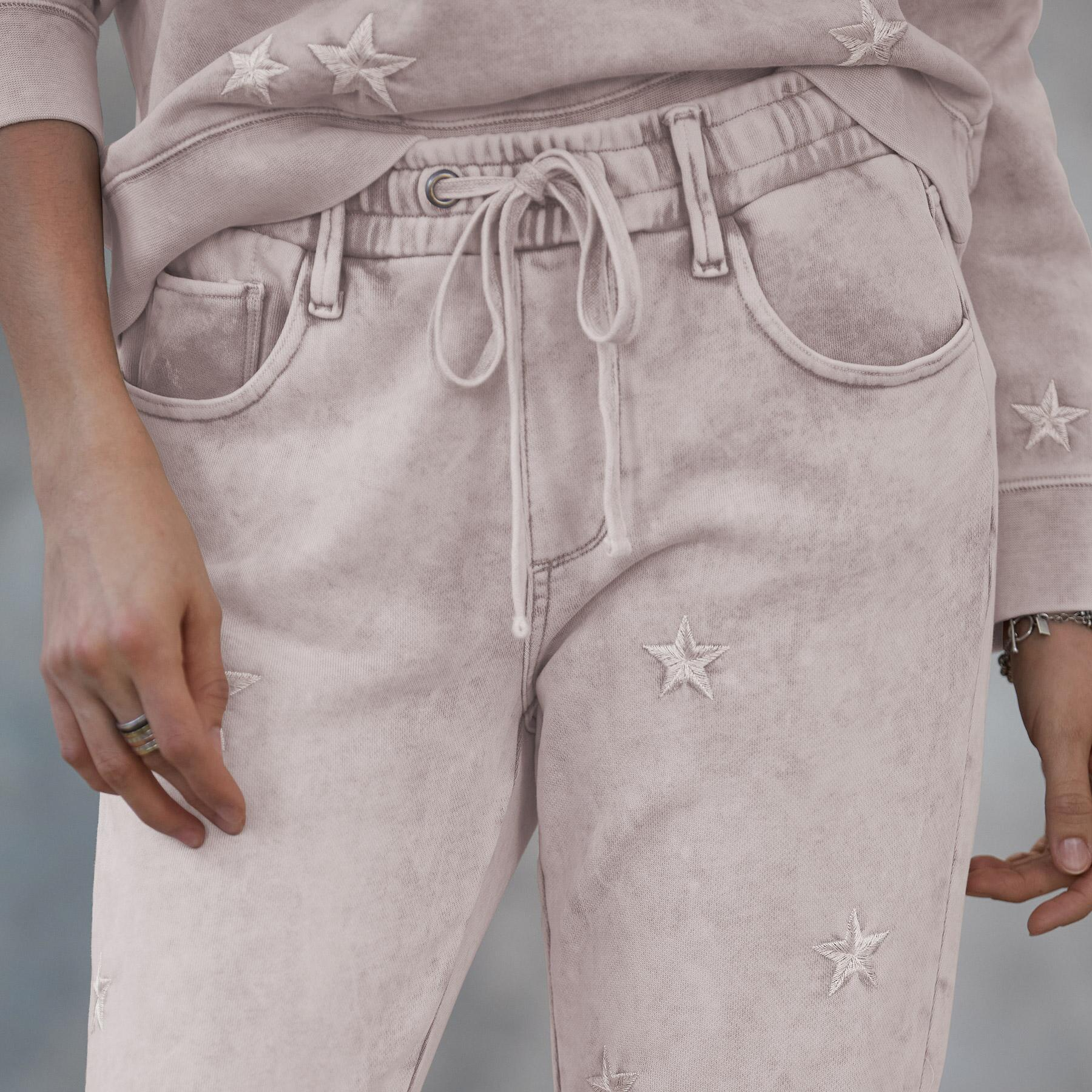 MARBLED STAR JOGGERS: View 3