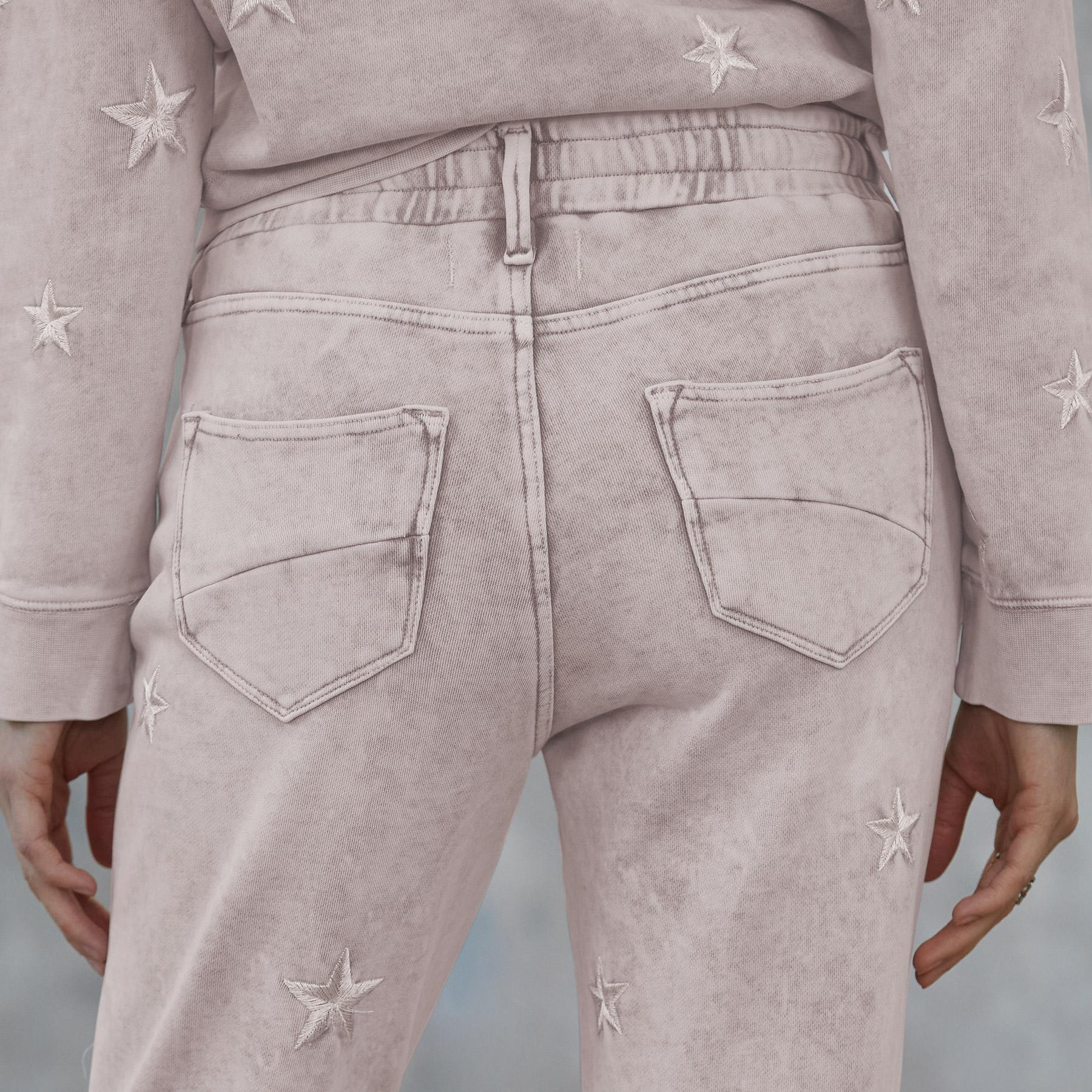 MARBLED STAR JOGGERS: View 5