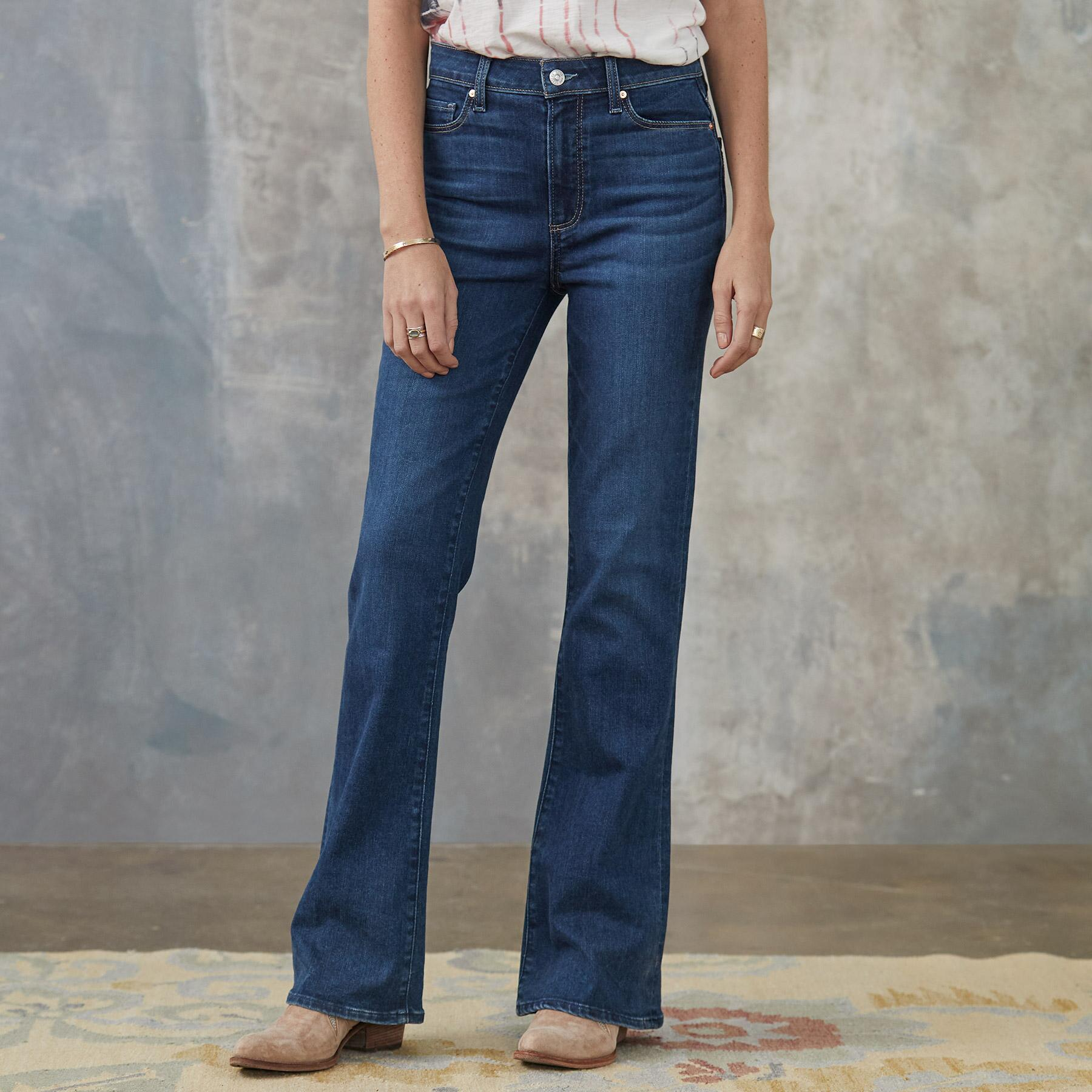 LAUREL CANYON HIGH RISE JEANS: View 1