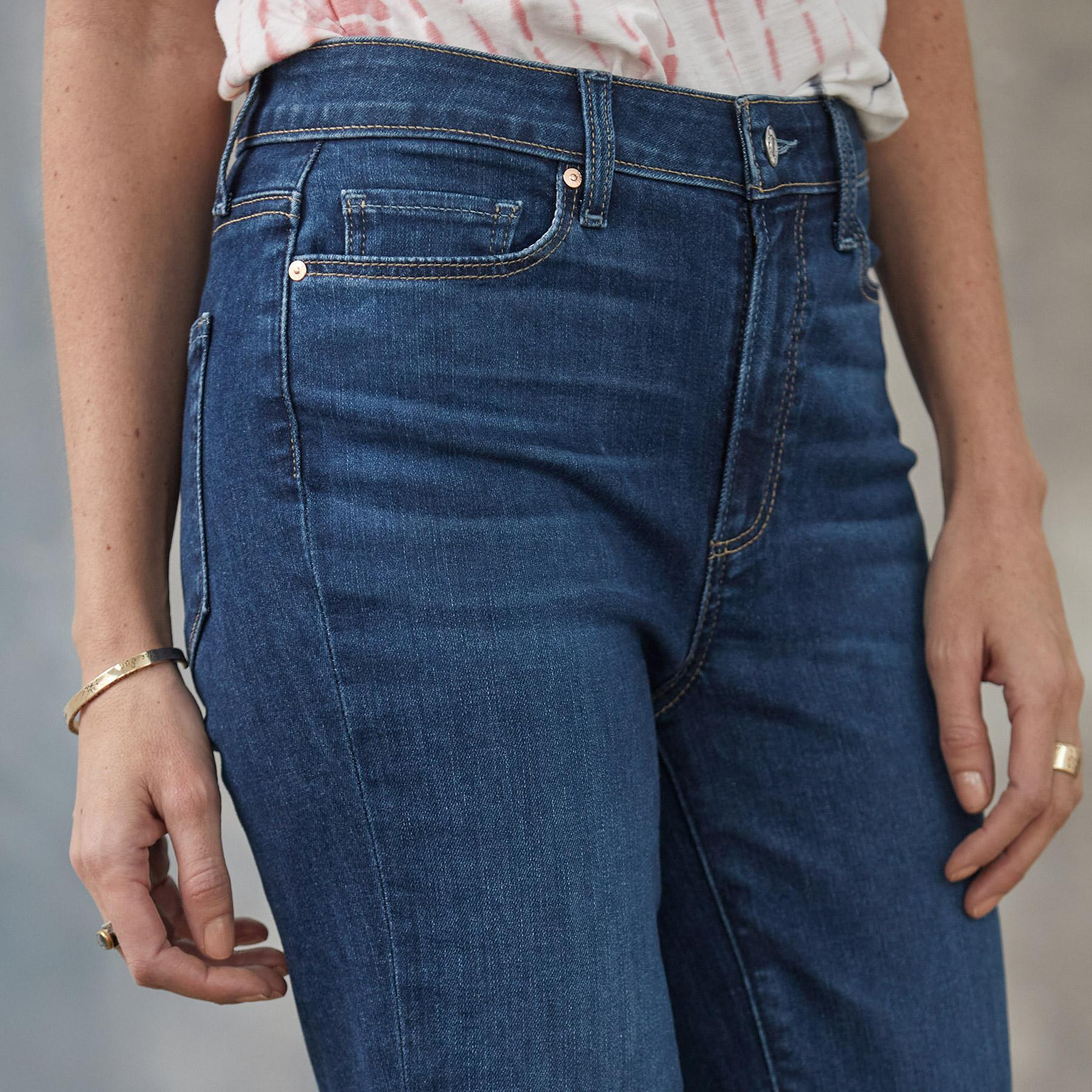 LAUREL CANYON HIGH RISE JEANS: View 3