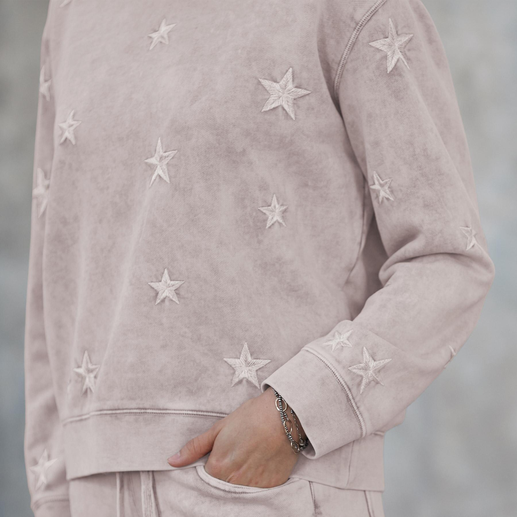 MARBLED STAR SWEATSHIRT: View 3