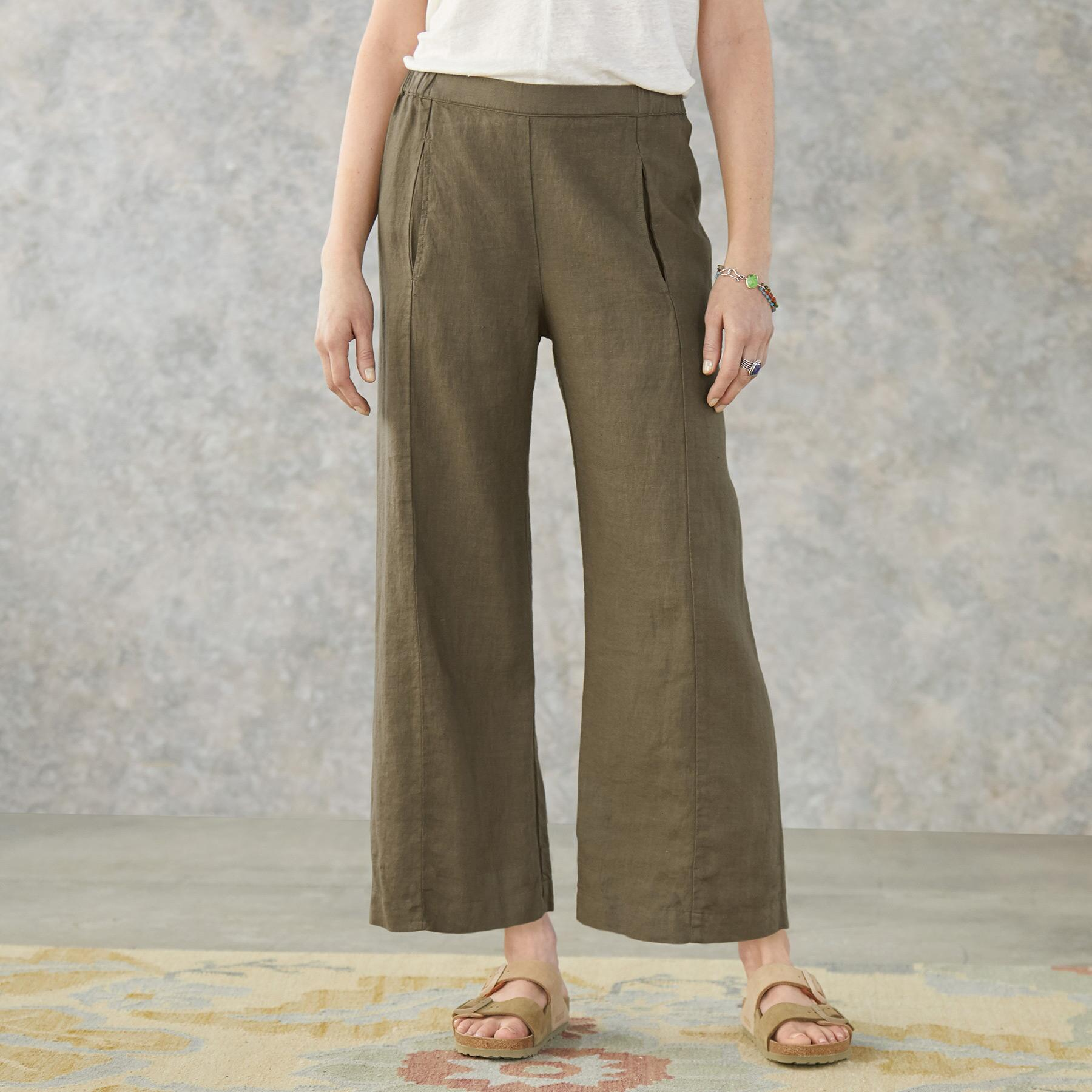 ANANDA LINEN PANTS: View 1