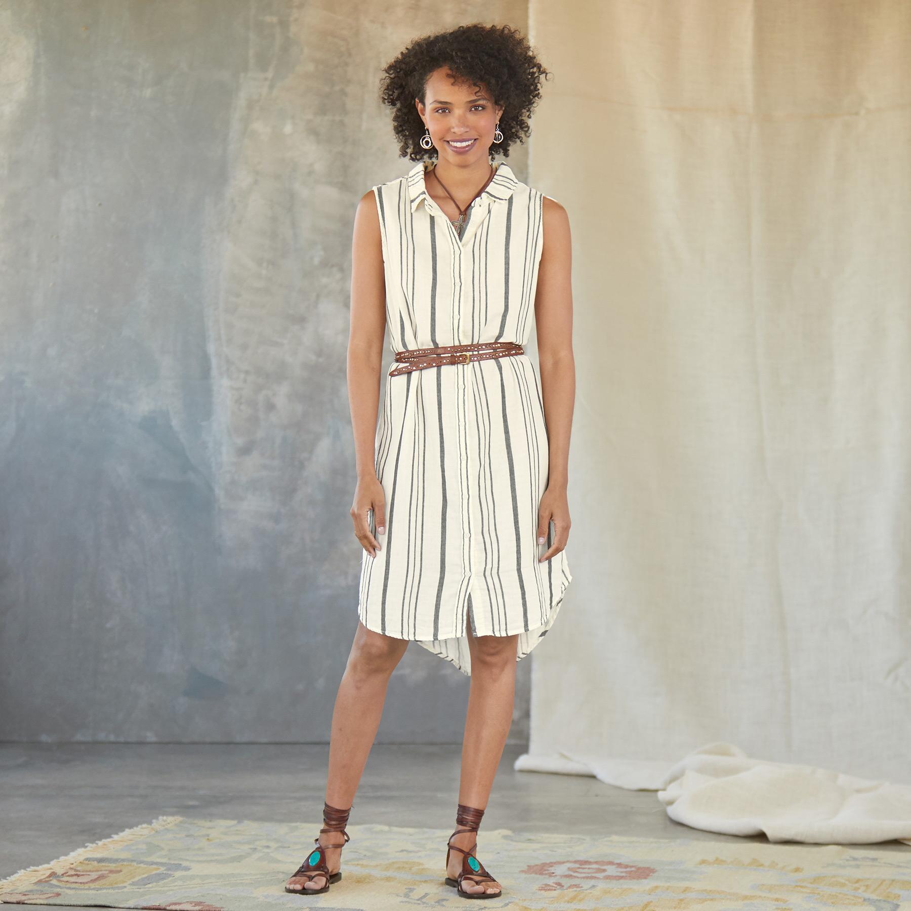 LAUREN SHIRT DRESS: View 1