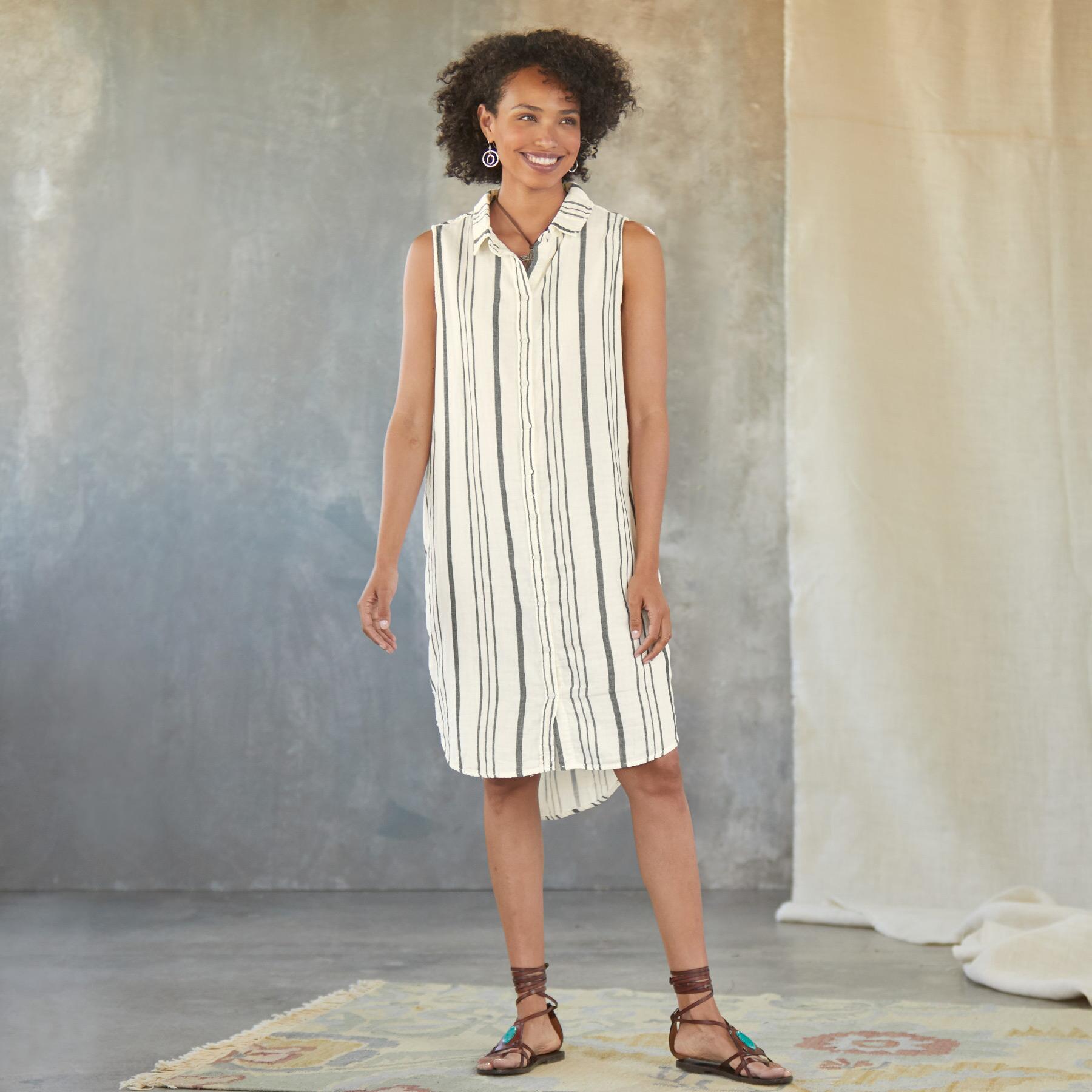 LAUREN SHIRT DRESS: View 2