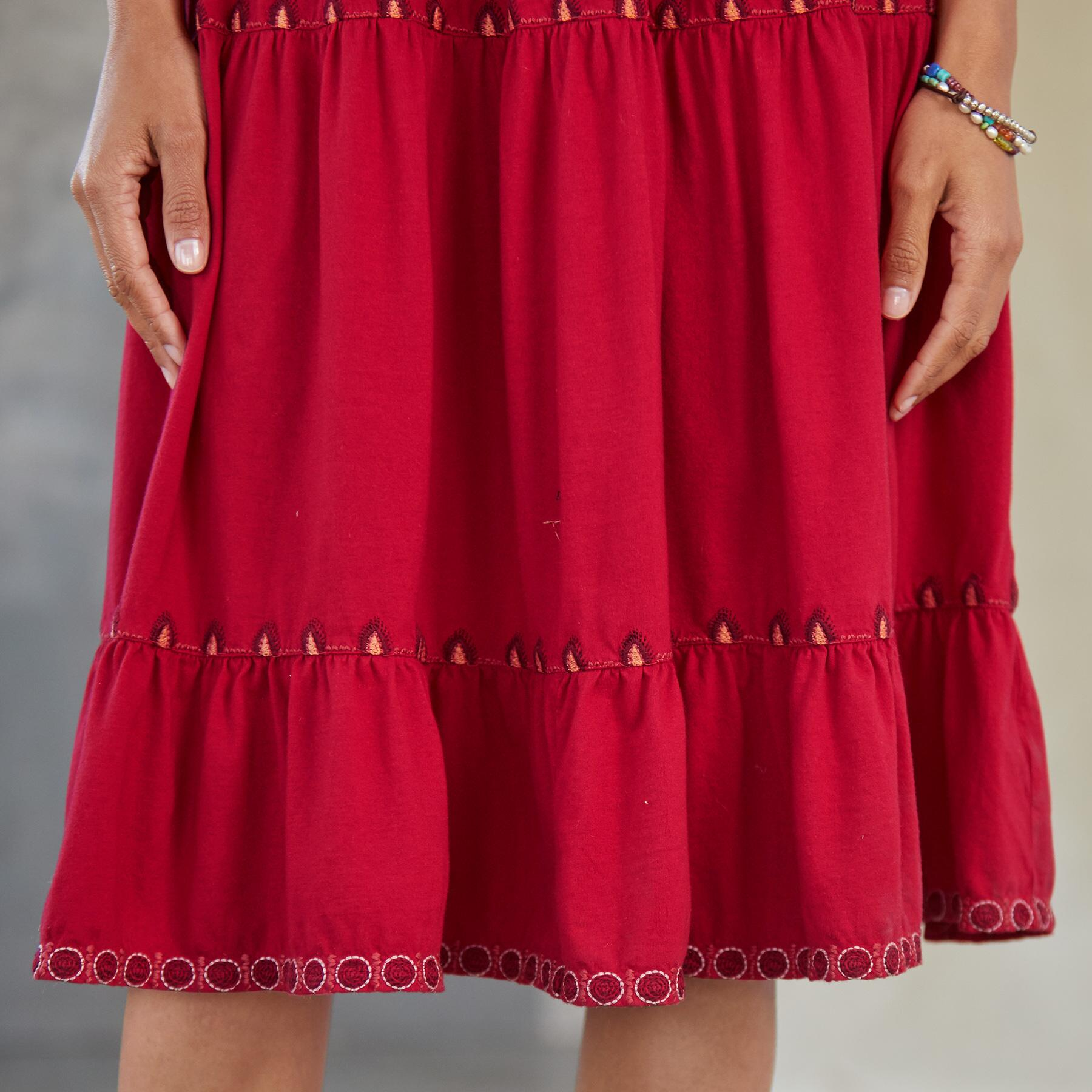 NYA TIERED KNIT DRESS: View 5