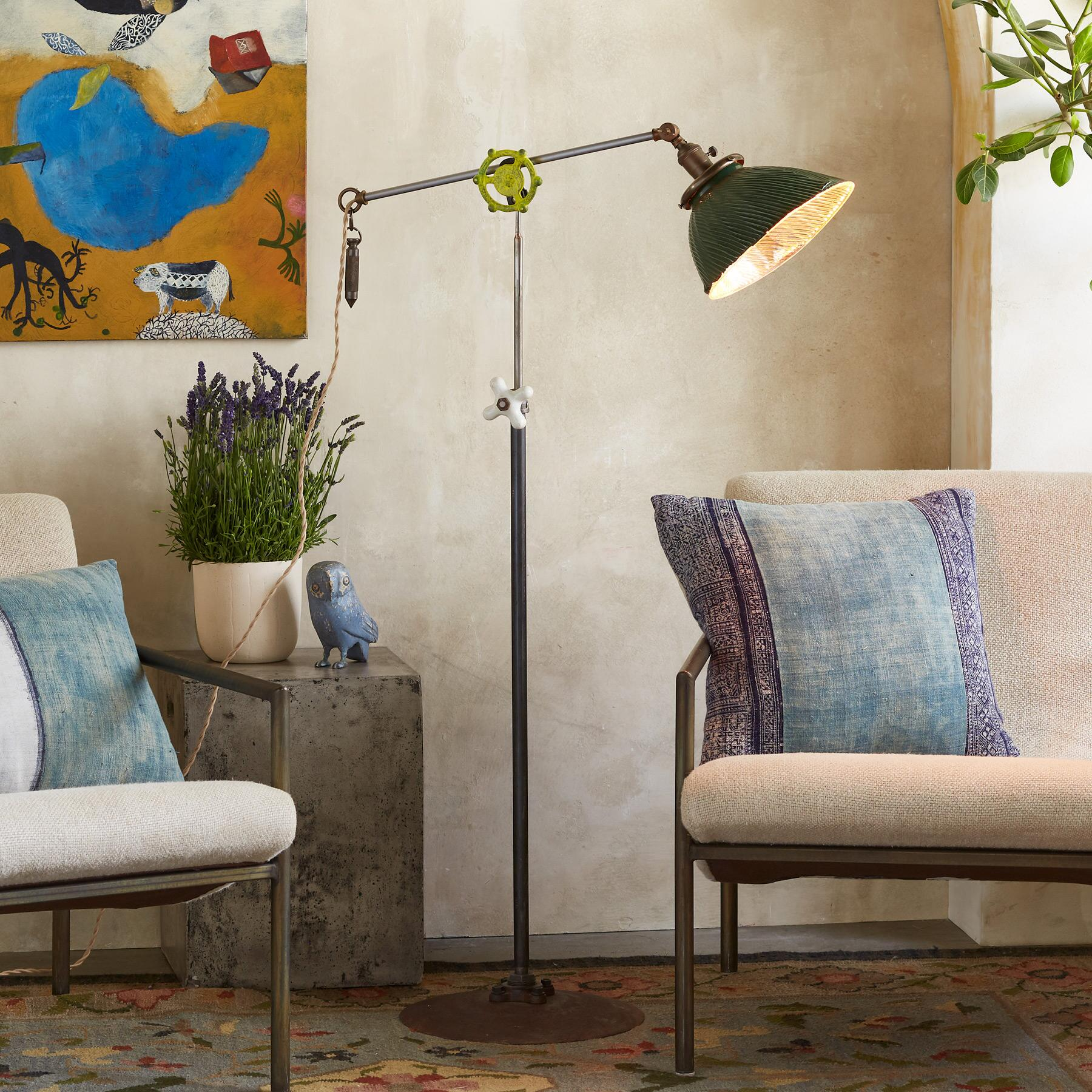 METCALF FLOOR LAMP: View 1