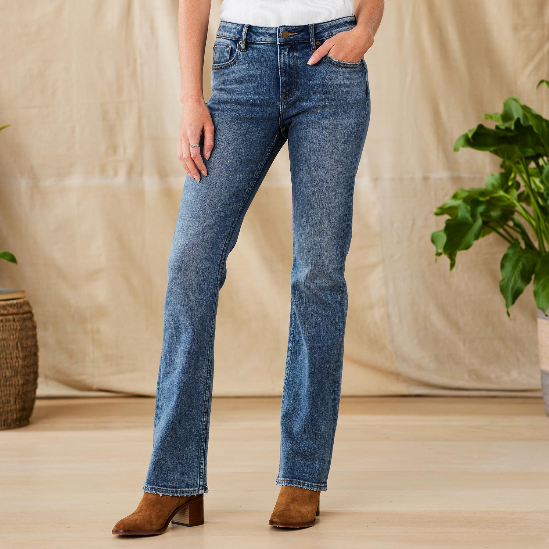 KELLY CLASSIC BOOTCUT JEANS: View 1