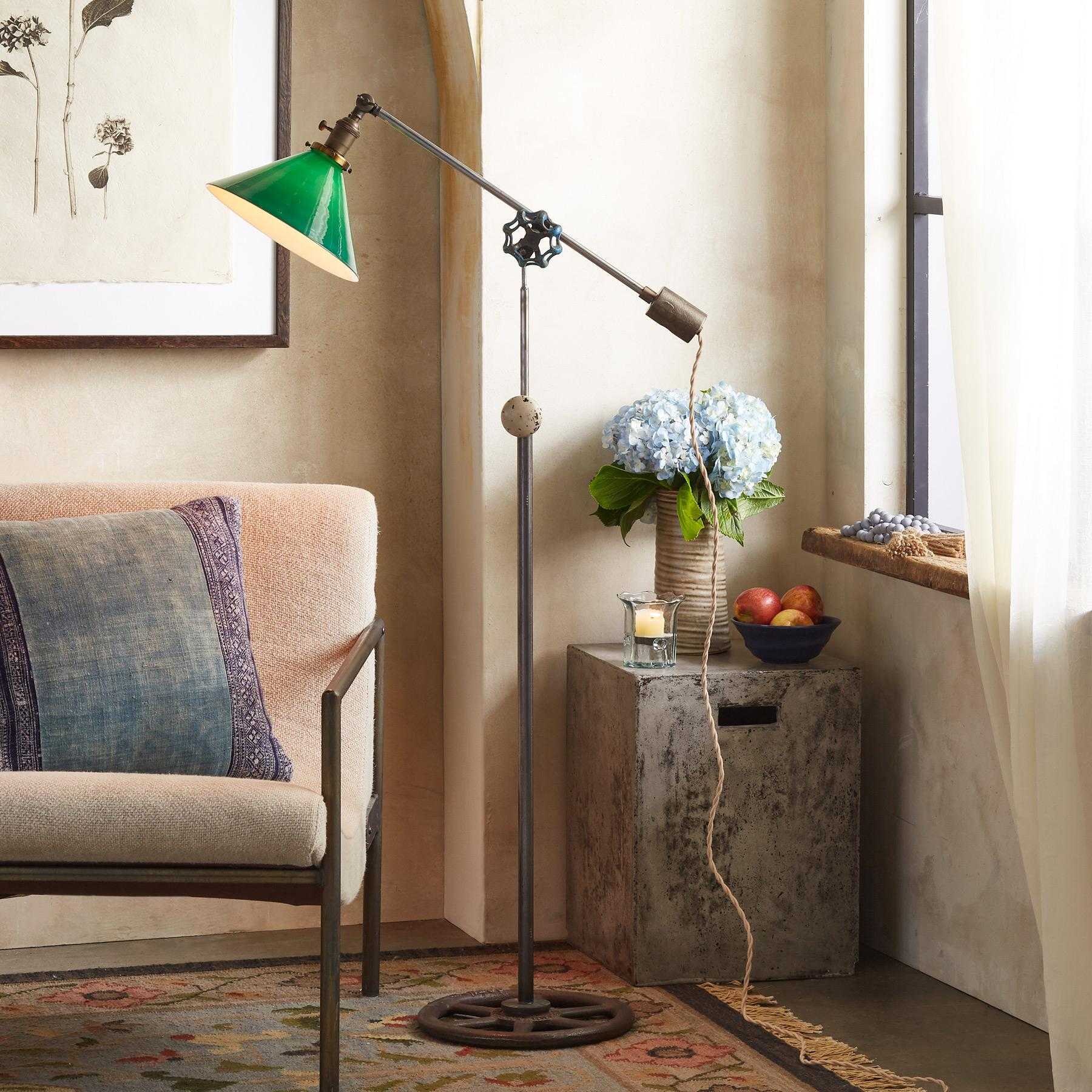CLAYTON FLOOR LAMP: View 1